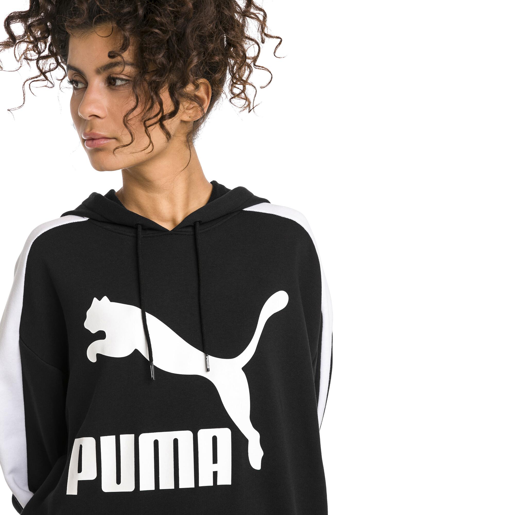 Image Puma Classics Logo T7 Women's Hoodie #1