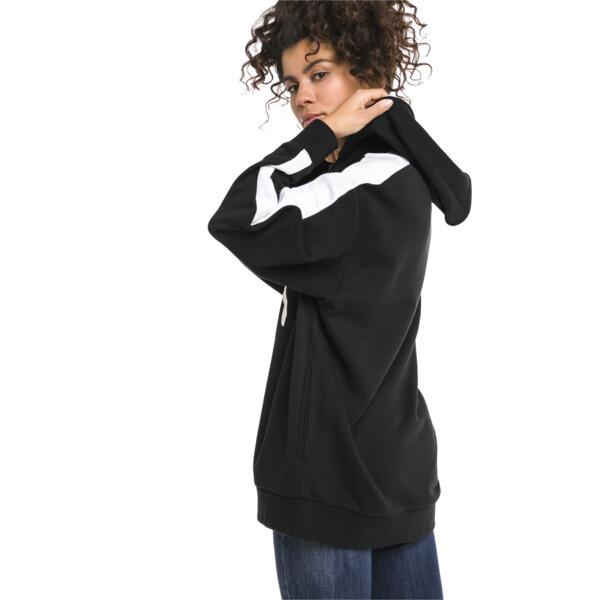 Classics Logo T7 Women's Hoodie, Cotton Black, large