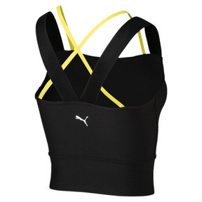 Thumbnail 5 of Chase Damen Crop Top, Puma Black, medium
