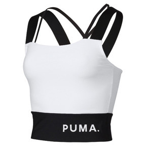 Thumbnail 1 of Chase Women's Crop Top, Puma White, medium