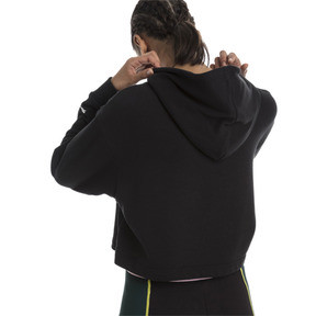 Thumbnail 2 of Trailblazer Women's Hoodie, Cotton Black, medium