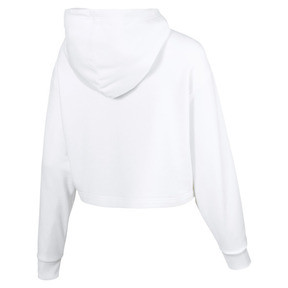 Thumbnail 5 of TZ Damen Hoodie, Puma White, medium