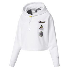 Sweatshirt à capuche TZ pour femme