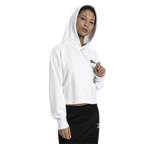Thumbnail 1 of TZ Damen Hoodie, Puma White, medium