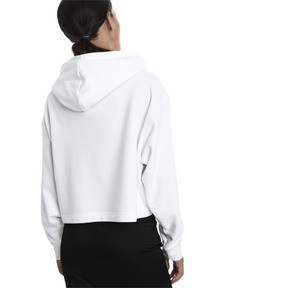 Thumbnail 2 of TZ Damen Hoodie, Puma White, medium