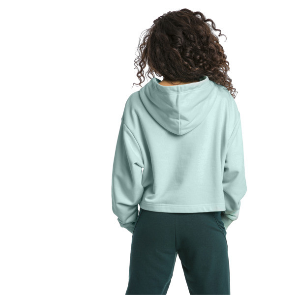 Trailblazer Women's Hoodie, Fair Aqua, large