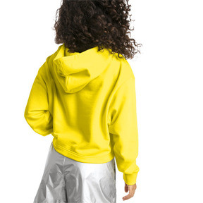 Thumbnail 2 of TZ Damen Hoodie, Blazing Yellow, medium