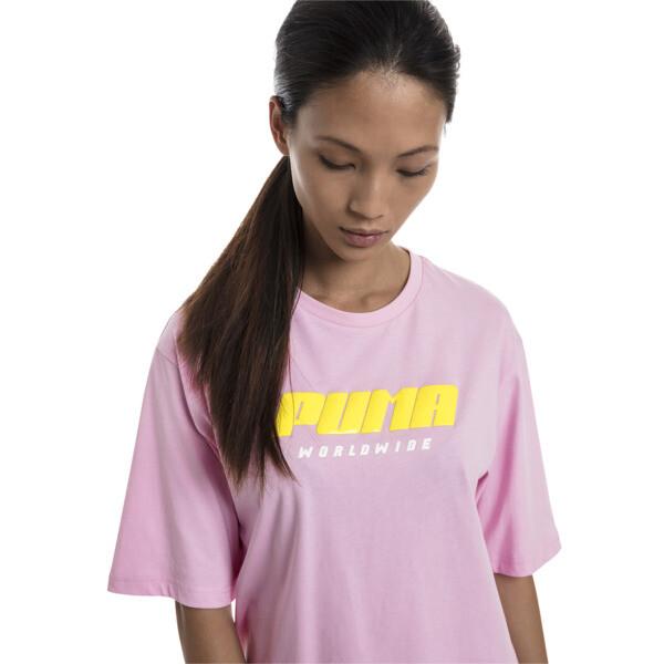 Trailblazer Women's Tee, Pale Pink, large
