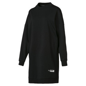 Thumbnail 4 of TZ Damen Langes Sweatshirt, Cotton Black, medium