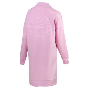 Thumbnail 4 of Trailblazer Long Crew Neck Women's Pullover, Pale Pink, medium