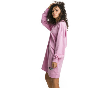 Thumbnail 2 of Trailblazer Long Crew Neck Women's Pullover, Pale Pink, medium