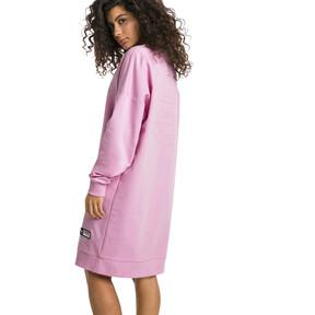 Thumbnail 3 of Trailblazer Long Crew Neck Women's Pullover, Pale Pink, medium