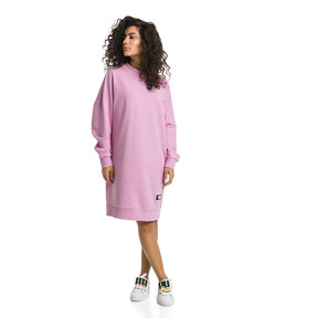 Thumbnail 5 of Trailblazer Long Crew Neck Women's Pullover, Pale Pink, medium