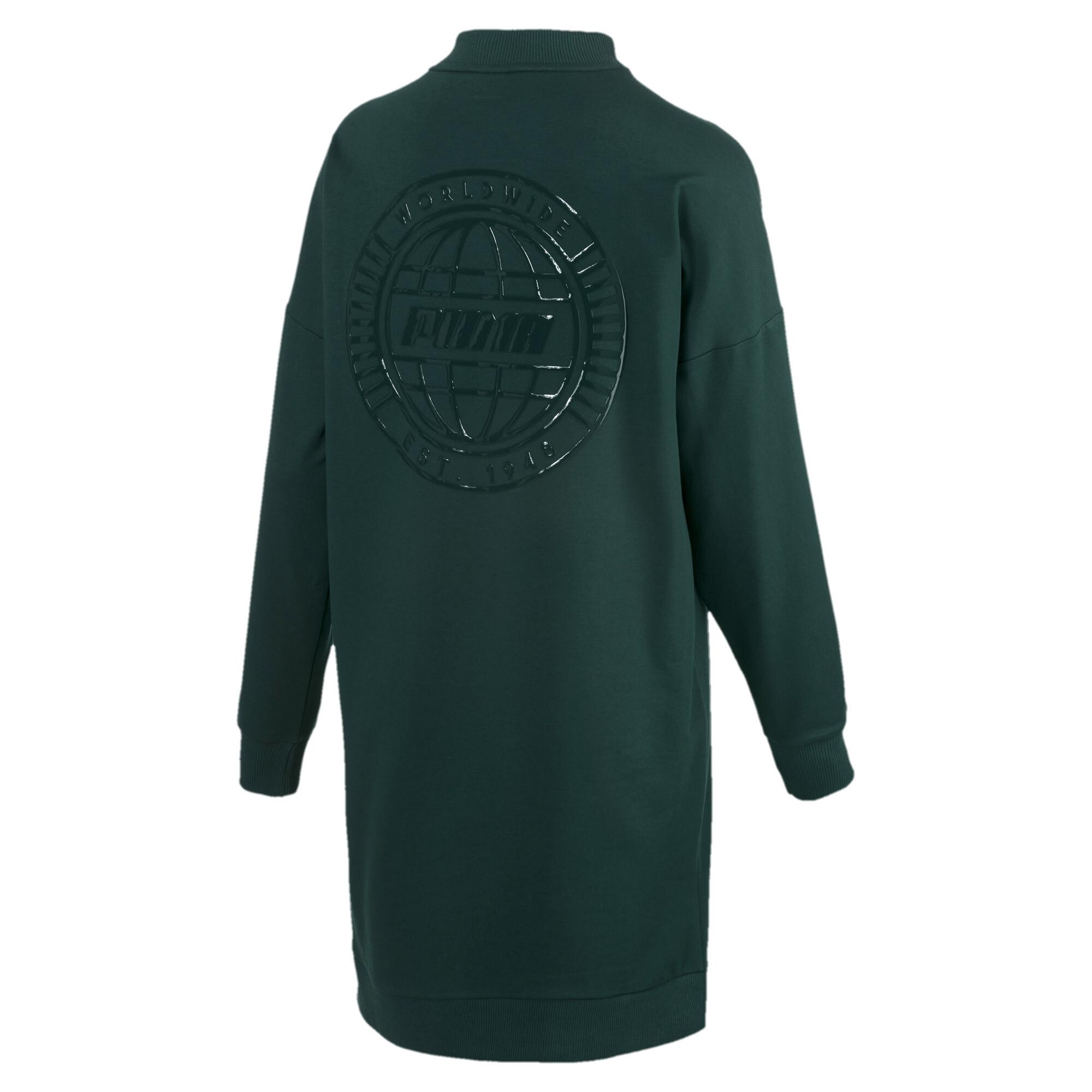 Image Puma TZ Long Crew Neck Women's Pullover #5