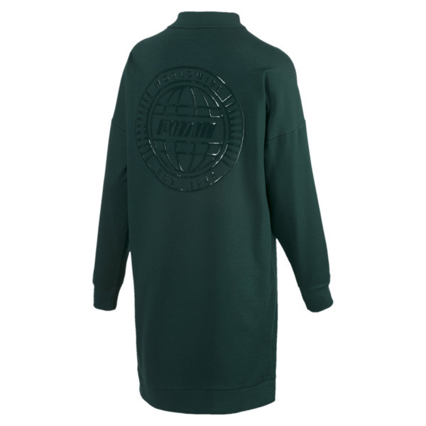 Trailblazer Long Crew Neck Women's Pullover, Ponderosa Pine, large