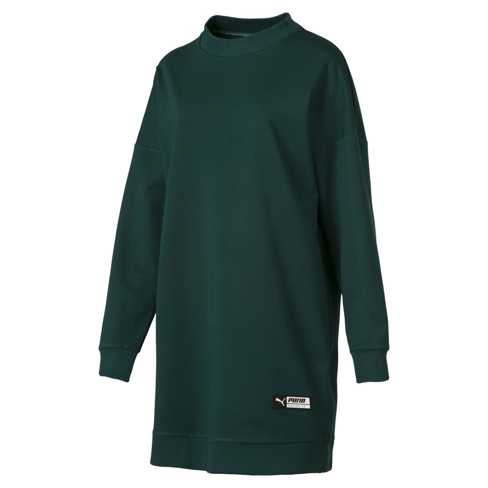 Image Puma TZ Long Crew Neck Women's Pullover #1