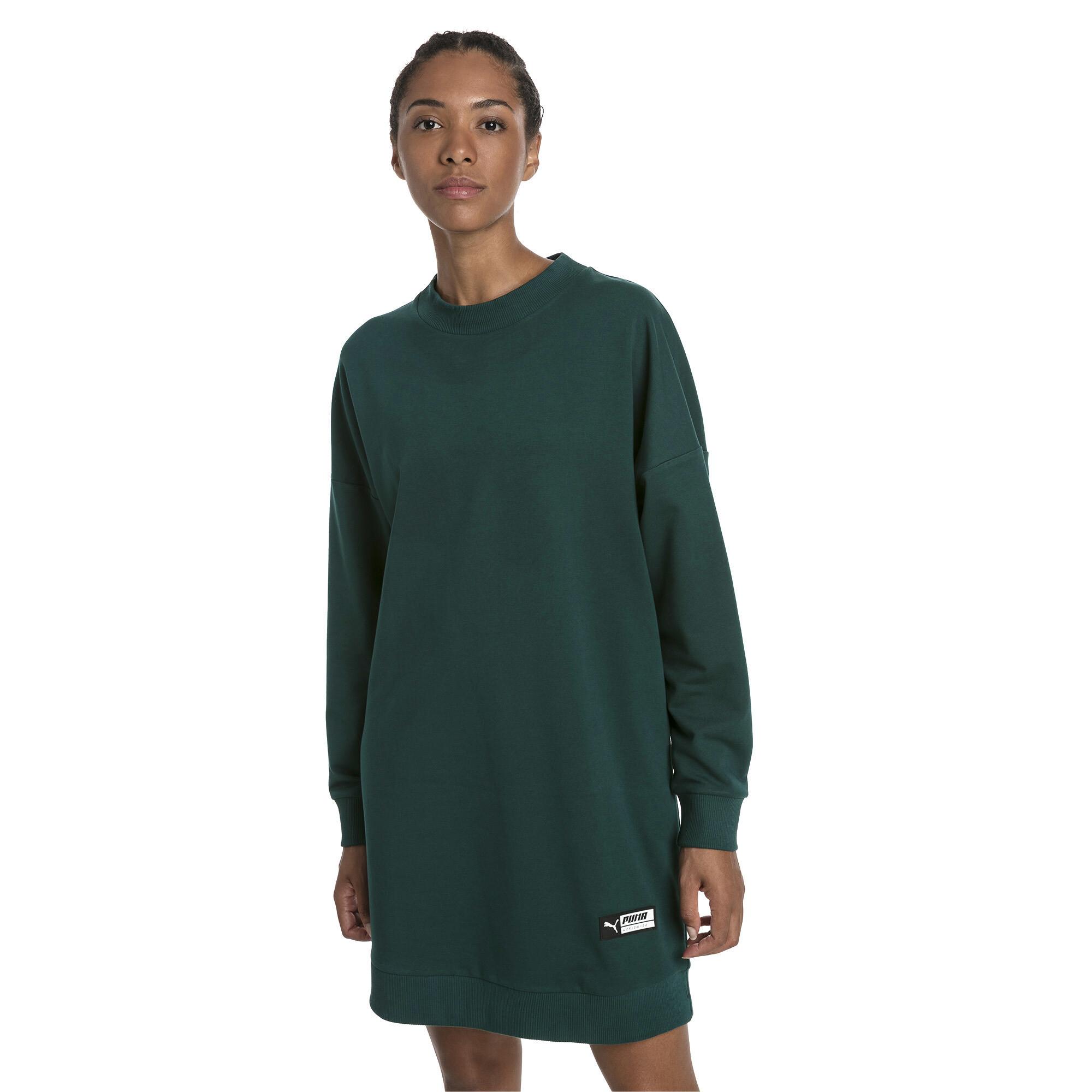 Image Puma TZ Long Crew Neck Women's Pullover #1