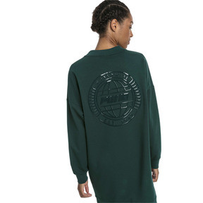 Thumbnail 2 of Trailblazer Long Crew Neck Women's Pullover, Ponderosa Pine, medium
