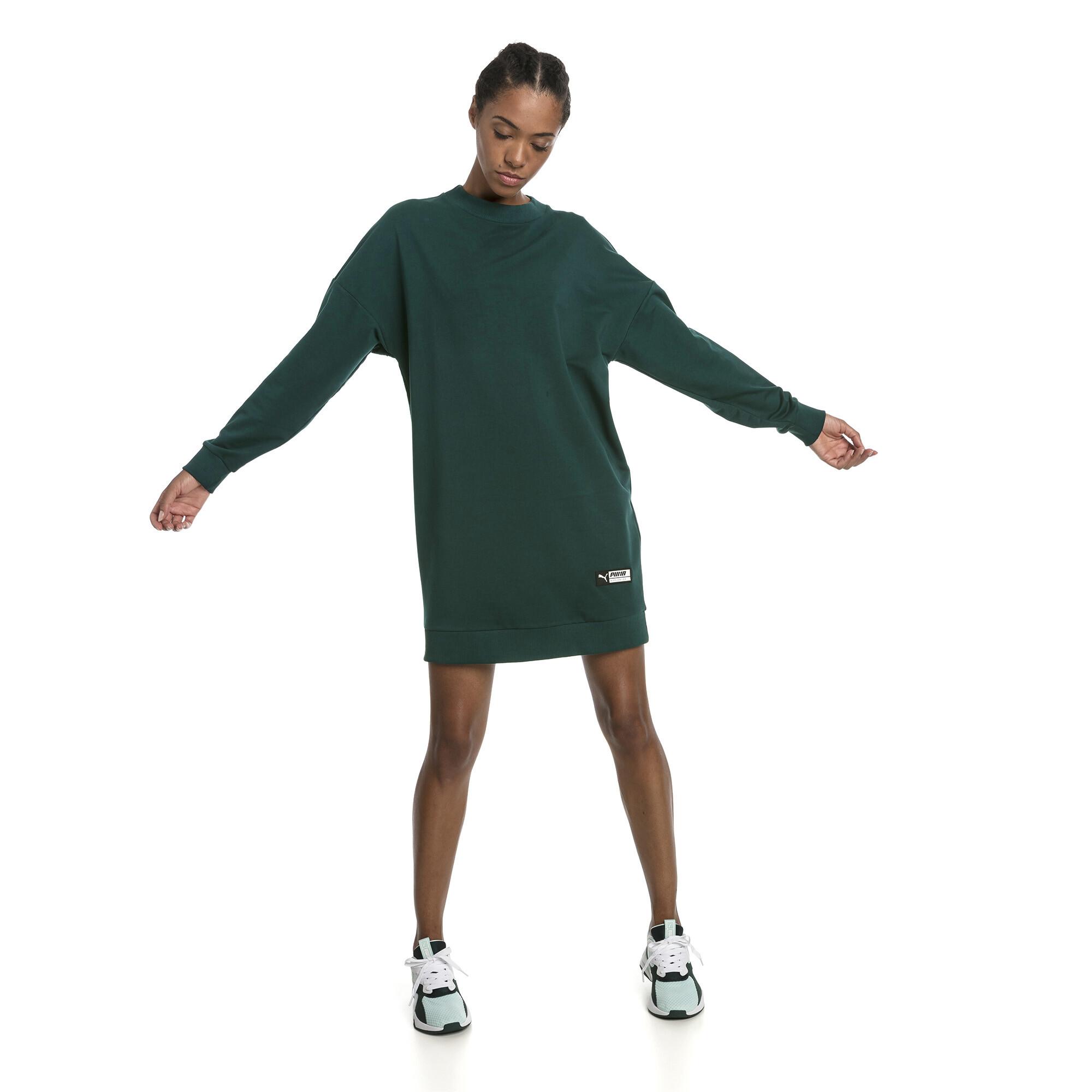 Image Puma TZ Long Crew Neck Women's Pullover #3