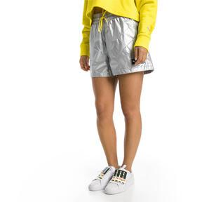 Thumbnail 2 of Trailblazer Woven Women's Shorts, Puma White, medium