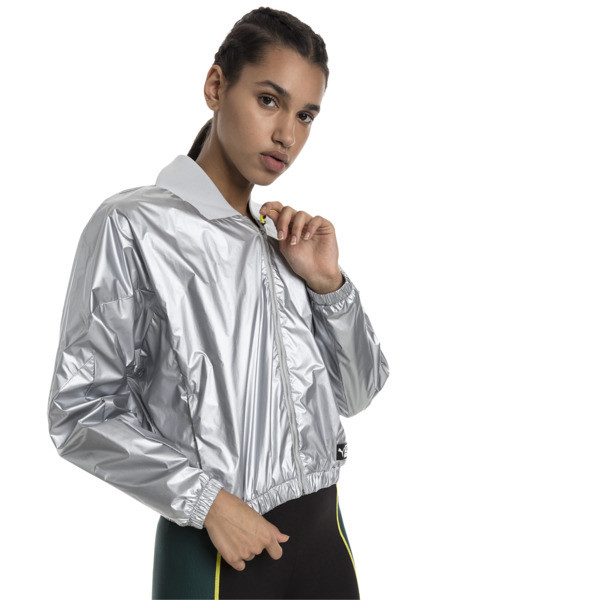 Trailblazer Women's Track Jacket, Puma White, large
