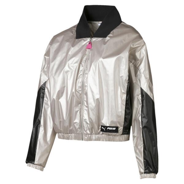 Trailblazer Women's Jacket, Silver Gray, large