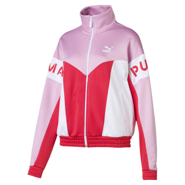 XTG 94 Damen Trainingsjacke, Hibiscus, large
