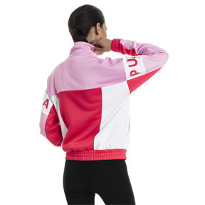 Thumbnail 2 of XTG 94 Damen Trainingsjacke, Hibiscus, medium
