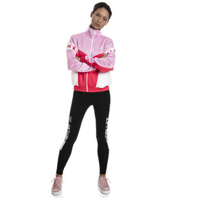 Thumbnail 3 of XTG 94 Damen Trainingsjacke, Hibiscus, medium