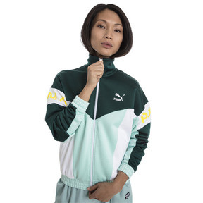 Thumbnail 2 of XTG 94 Women's Track Jacket, Fair Aqua, medium