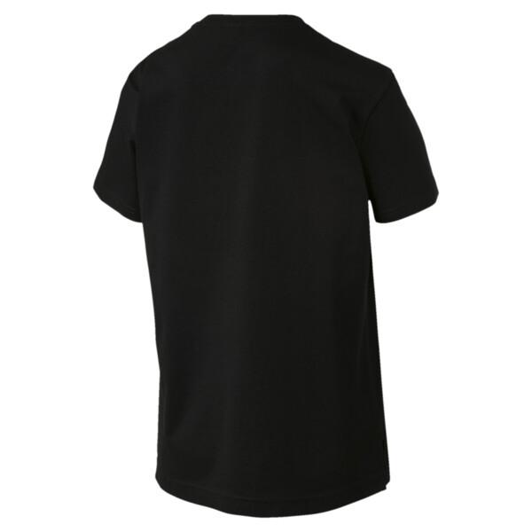 Graphics Reg Triple Col Tee, Cotton Black, large