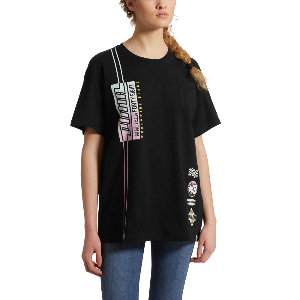 Image PUMA Graphic Elongated TB Women's Tee #2