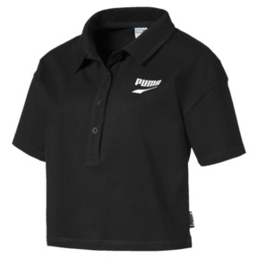 Thumbnail 1 of Downtown Women's Polo Shirt, Puma Black, medium