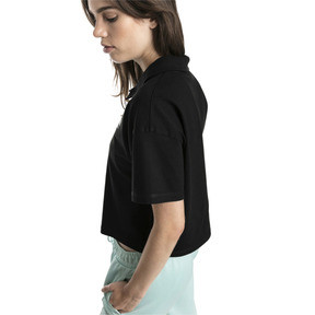 Thumbnail 3 of Downtown Women's Polo Shirt, Puma Black, medium