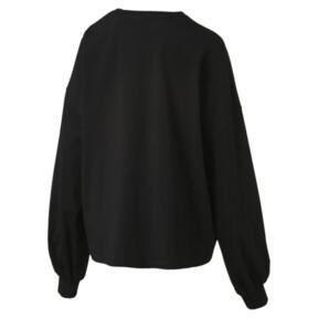 Thumbnail 3 of Classics Women's Long Sleeve Logo Top, Cotton Black, medium