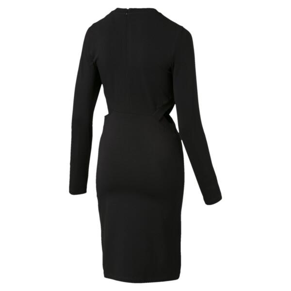 Classics Logo Women's Tight Dress, Cotton Black, large