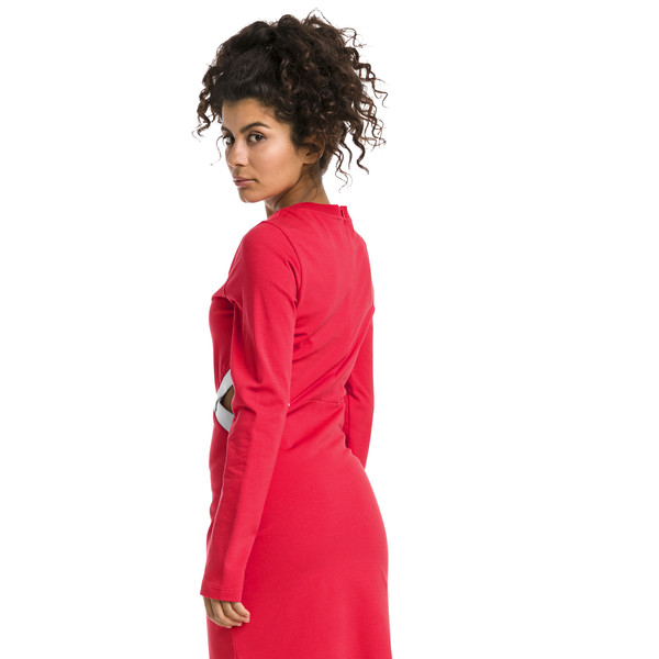Classics Tight Women's Dress, Hibiscus, large