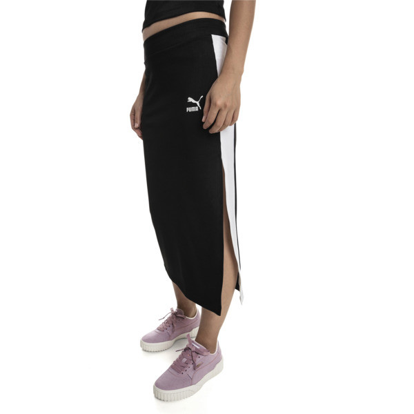 Classics Damen Rock, Puma Black, large