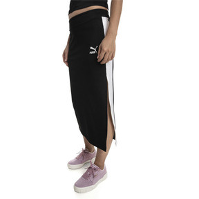 Thumbnail 1 of Classics Women's Rib Skirt, Puma Black, medium