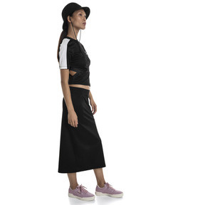 Thumbnail 3 of Classics Women's Rib Skirt, Puma Black, medium