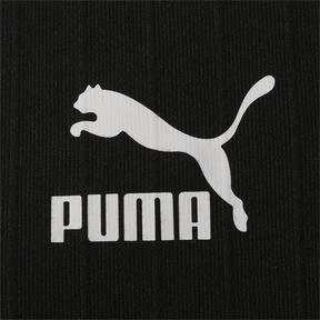 Thumbnail 6 of CLASSICS ウィメンズ リブ トップ (半袖), Puma Black, medium-JPN