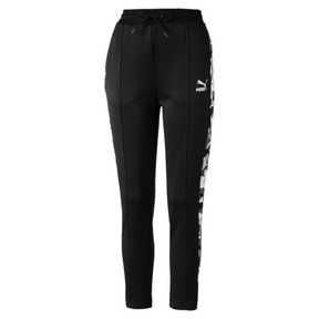 Thumbnail 1 of Classics AOP Women's T7 Track Pants, Puma Black, medium