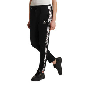 Thumbnail 2 of Classics AOP Women's T7 Track Pants, Puma Black, medium