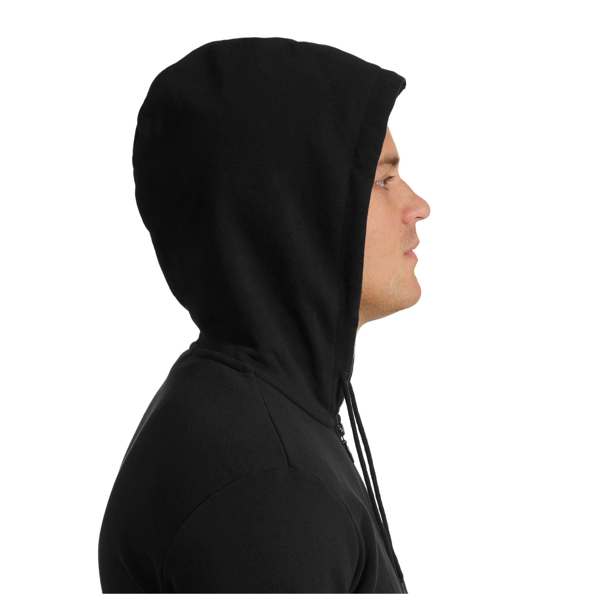 PUMA-Classics-Men-s-Full-Zip-Logo-Hoodie-Men-Sweat-Sport-Classics thumbnail 7