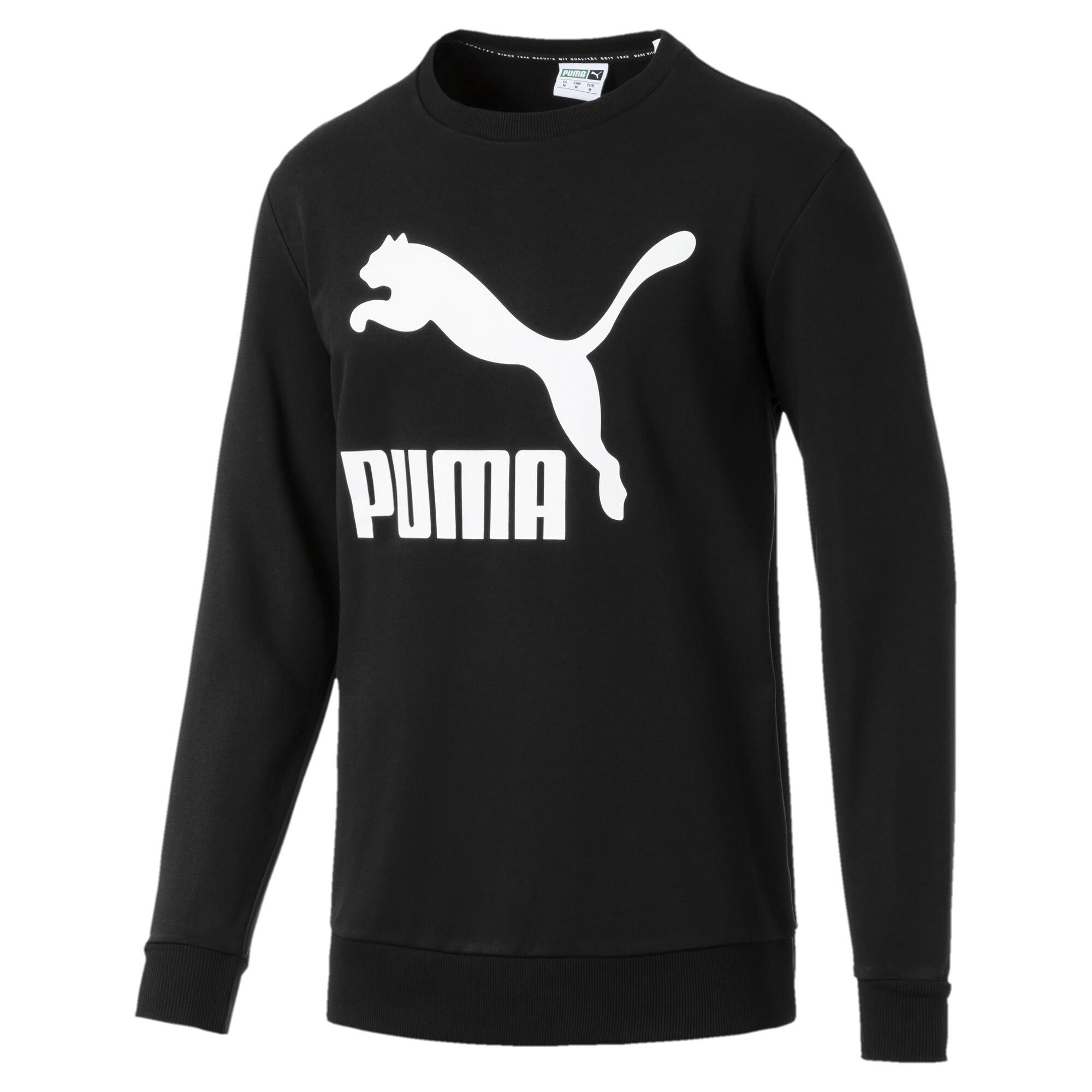 Image Puma Classics Logo Crew Neck Men's Pullover #3
