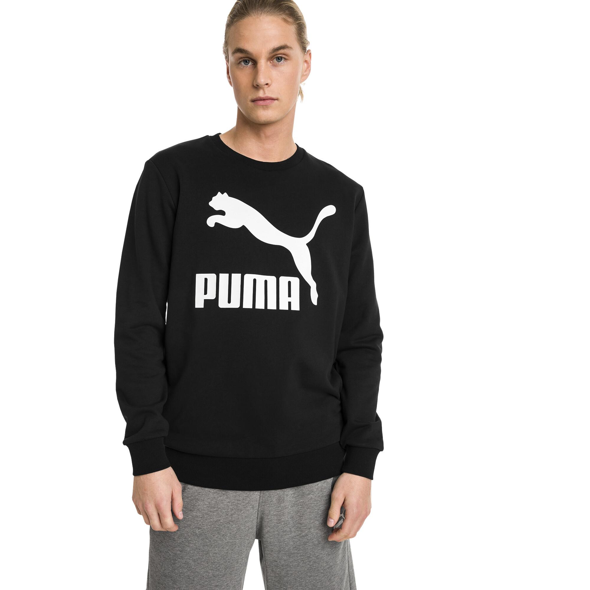 Image Puma Classics Logo Crew Neck Men's Pullover #1