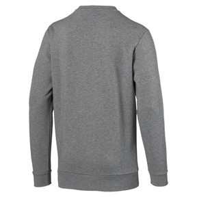 Thumbnail 3 of Classics Men's Logo Crewneck Sweatshirt, Medium Gray Heather, medium