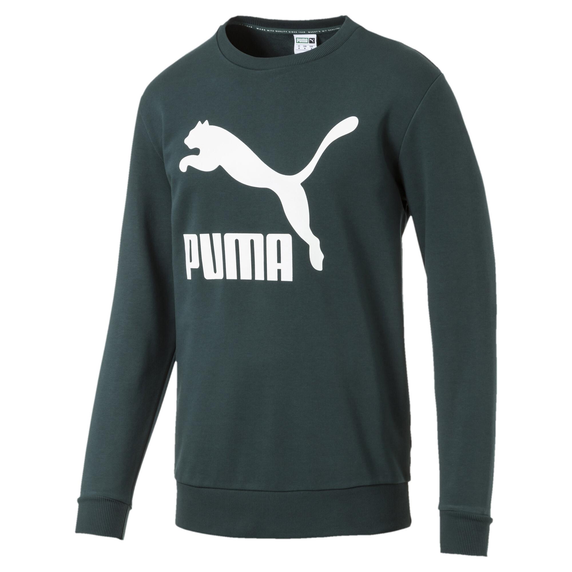 Image Puma Classics Logo Crew Neck Men's Pullover #4