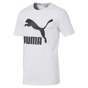 Imagen en miniatura 4 de Camiseta de manga corta con logo de hombre Classics, Puma White, mediana