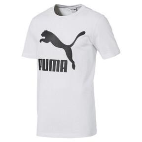 Thumbnail 4 of Classics Logo Short Sleeve Men's Tee, Puma White, medium